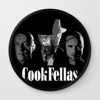 cook Wall Clocks featuring Cook Fellas by Resistance