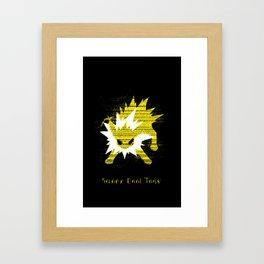 Jolteon SCT Framed Art Print