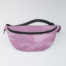Pink Camouflage Fanny Pack