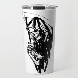 THE GRIM REAPER MR DEATH Travel Mug