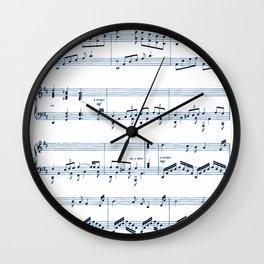 Notes Wall Clock