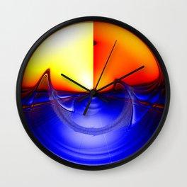 sub sonic waves Wall Clock