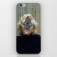 mf doom iPhone & iPod Skins featuring MF Monroe by TheArtGoon