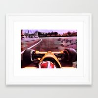 formula 1 Framed Art Prints featuring Formula 1 by Jean-François Dupuis