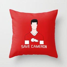 F*ck Ferris, Save Cameron Throw Pillow