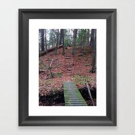 """""""Red"""" Woods Framed Art Print"""