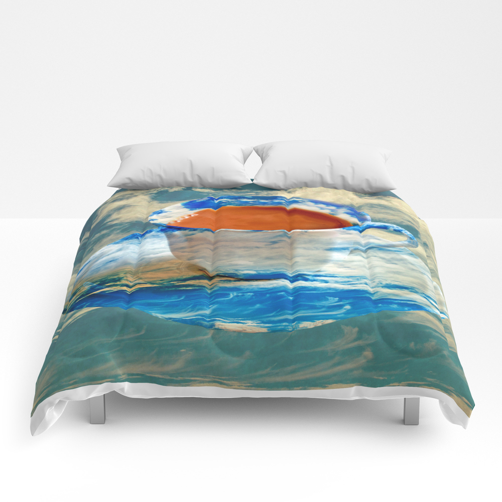 Cup Of Clouds Comforter by Catspaws CMF8107178