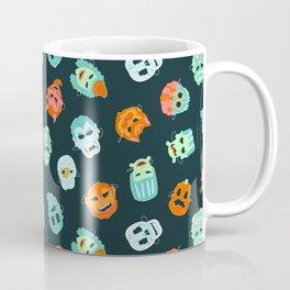 Halloween Mask Pattern Coffee Mug