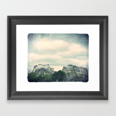 View from the top Framed Art Print