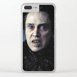 The Headless Horseman Clear iPhone Case