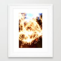 pentagram Framed Art Prints featuring Pentagram by angesmithphotography