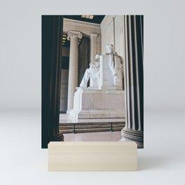 On His Marble Throne Mini Art Print