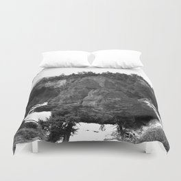 Around Th Bend - Tower Creek Duvet Cover
