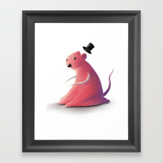Test subject Framed Art Print