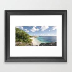 Curaçao - Playa III Framed Art Print