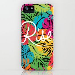 Rise in love iPhone Case