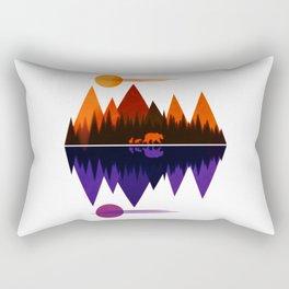 Bear & Cubs #5 Rectangular Pillow