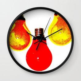 LIGHTBULBS Wall Clock