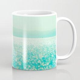 Winter Aqua Sparkling Seashore Coffee Mug