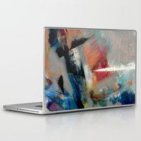 gravity Laptop & iPad Skins featuring Gravity by SuzyQ