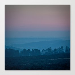 Peaks at Dusk Canvas Print