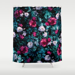 RPE FLORAL ABSTRACT III Shower Curtain