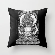 Sacred Ascetic Throw Pillow