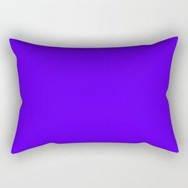 Mood Lighting ~ Royal Blue Rectangular Pillow