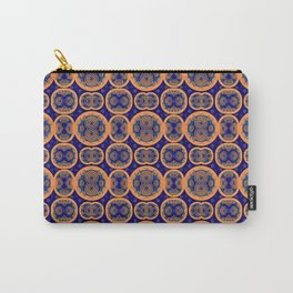 Circles and Eights Carry-All Pouch