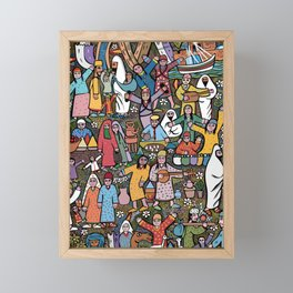 A day in morroco  Framed Mini Art Print