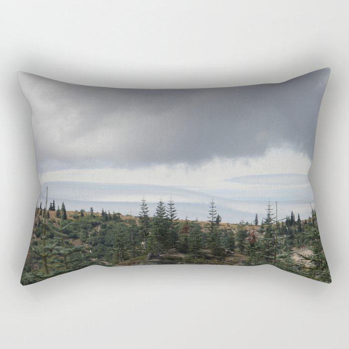 Out Over The Edge Rectangular Pillow