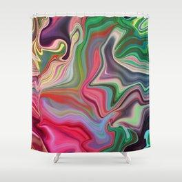 Hippy Happy Shower Curtain