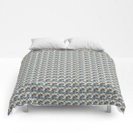 Birds - Deeppink Comforters