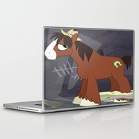mlp Laptop & iPad Skins featuring MLP TROUBLESHOES CLYDE by Kalisourusrex