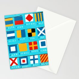 code flags Stationery Cards