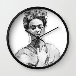 Art work by Patricia Ortega Wall Clock