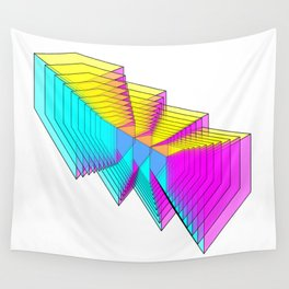 Cubes 4 Wall Tapestry
