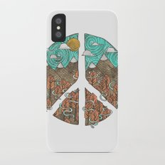 Peaceful Landscape iPhone X Slim Case