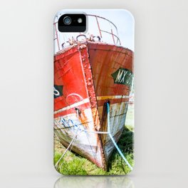 boat bretagne iPhone Case