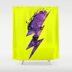Thunderwolf Shower Curtain