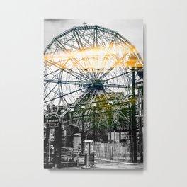 Sun Dial Metal Print