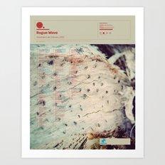 The Visual Mixtape 2010 | Descended Like Vultures | 25 / 25 Art Print