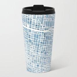 Philadelphia City Map Travel Mug