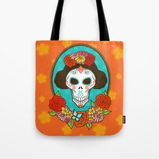 Day of the Dead Beauty Tote Bag