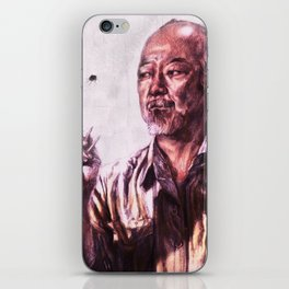Mr. Miyagi from Karate Kid iPhone Skin