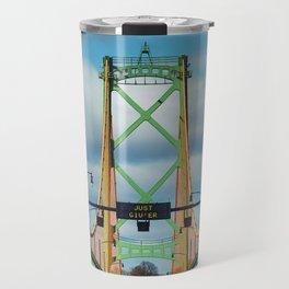 Just Giv'er Bridge Travel Mug