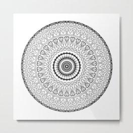 Mandala #7 Metal Print
