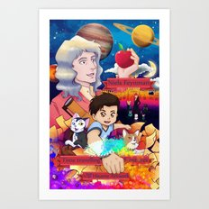 Niels Feynman | New comic cover Art Print