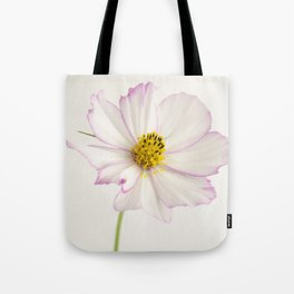 Sensation Cosmos White and Pink Tote Bag