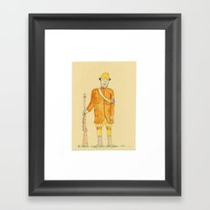 Drawings About Something: Framed Art Print